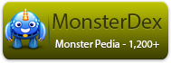 Visit Monster MMORPG MonsterDex - It is like Pokedex with 1,200+ unique and high quality monsters