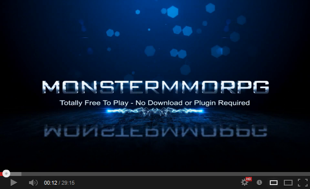 Click To Watch HD Gameplay Tutorial Video of Monster MMORPG On Youtube