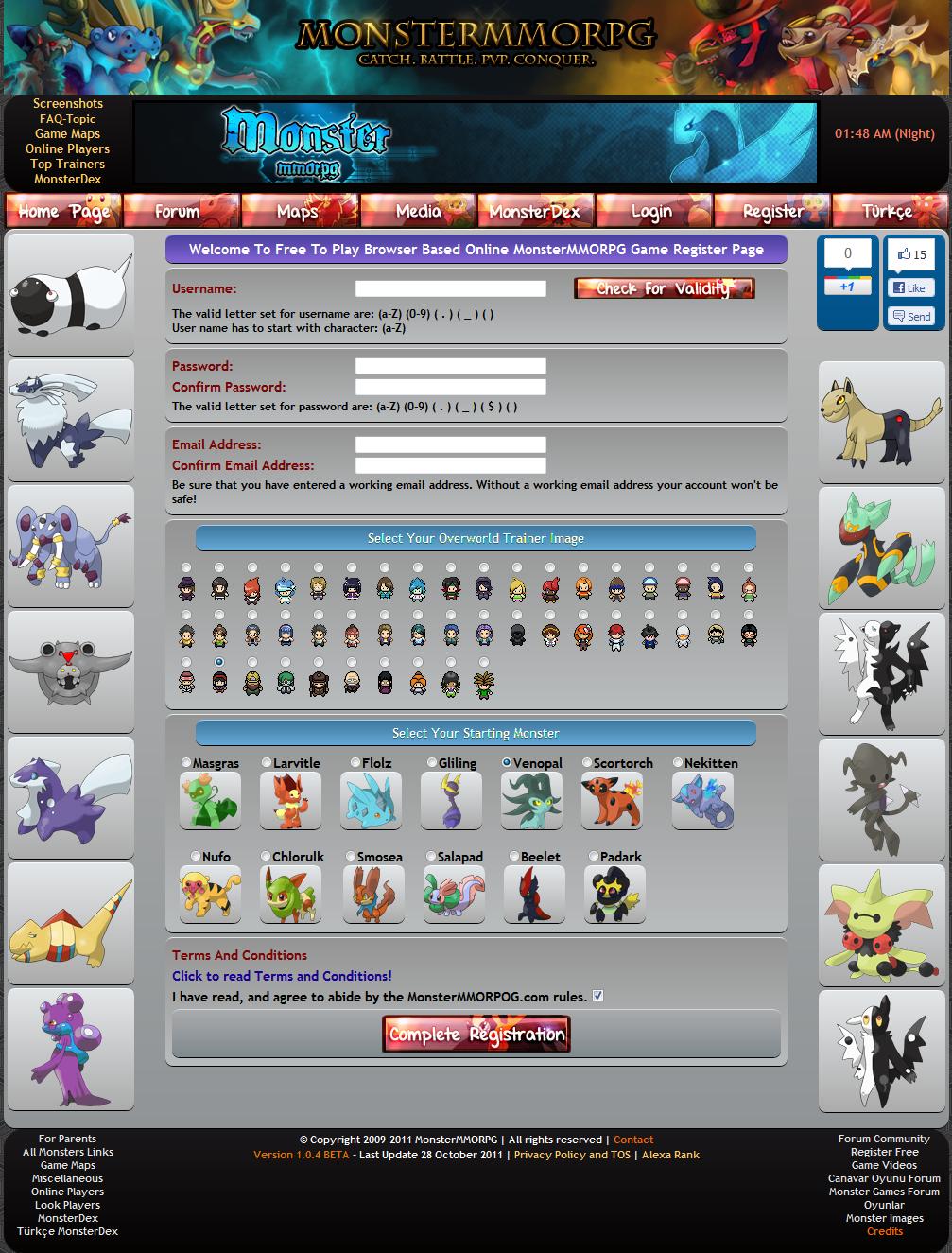 Online browser game no