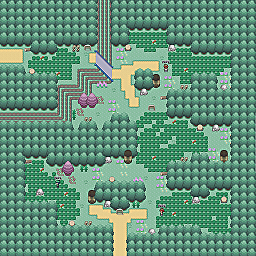Black Widow Way Game Map for Pokemon Online Players Route Order: 77