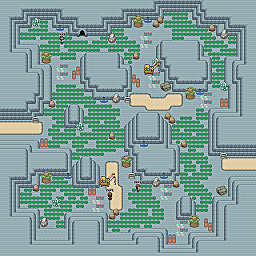 Cobalt Road Game Map for Pokemon Online Players Route Order: 344