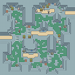 Copper Valley Game Map for Pokemon Online Players Route Order: 349