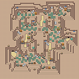 Craggy Path Game Map for Pokemon Online Players Route Order: 194