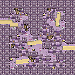 Creeping Valley Game Map for Pokemon Online Players Route Order: 408