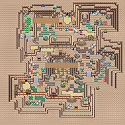 Dangerous Bridges Game Map for Pokemon Online Players Route Order: 200