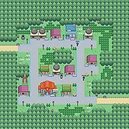 Electro Town Game Map for Pokemon Online Players Route Order: 258