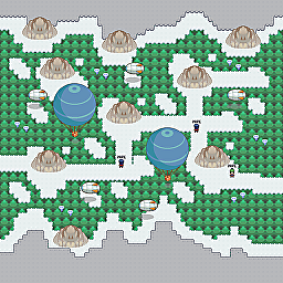 Goose Route Game Map for Pokemon Online Players Route Order: 391