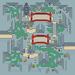 Grand Mineral Valley Game Map for Pokemon Online Players Route Order: 341