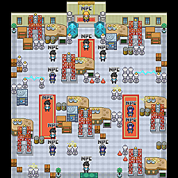 Lightning Arena Game Map for Pokemon Online Players Route Order: 270