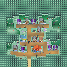 Mantella Town Game Map for Pokemon Online Players Route Order: 86
