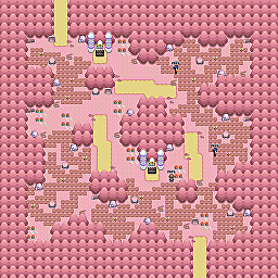 Paranormal Forest Game Map for Pokemon Online Players Route Order: 358