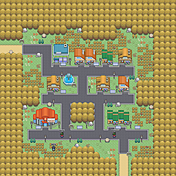 Photon Town Game Map for Pokemon Online Players Route Order: 275