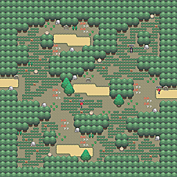 Scale Grotto Game Map for Pokemon Online Players Route Order: 459
