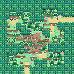 Silt Road Game Map for Pokemon Online Players Route Order: 14