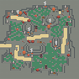 Singed Alley Game Map for Pokemon Online Players Route Order: 217
