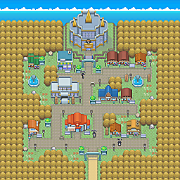 Star Light City Game Map for Pokemon Online Players Route Order: 294