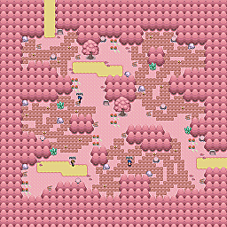 Stone Shroom Path Game Map for Pokemon Online Players Route Order: 359