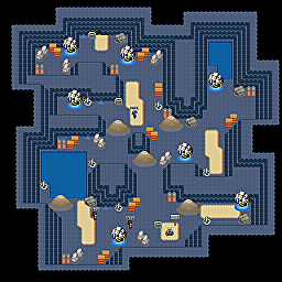 Volt Rock Cave F1 Game Map for Pokemon Online Players Route Order: 249