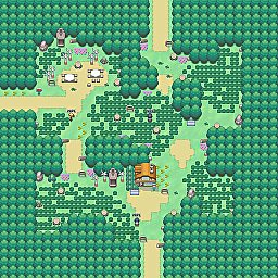 Windmill Valley Game Map for Pokemon Online Players Route Order: 10
