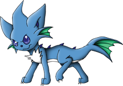 ID: 1034 Waterofe - Pokemon - Fakemon - Features Monster MMORPG Online