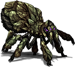 ID: 12 Cragantula - Pokemon - Fakemon - Features Monster MMORPG Online