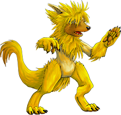 ID: 138 Volf - Pokemon - Fakemon - Features Monster MMORPG Online