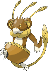 ID: 388 Harveat - Pokemon - Fakemon - Features Monster MMORPG Online