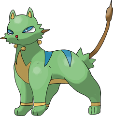 ID: 423 Tigreed - Pokemon - Fakemon - Features Monster MMORPG Online