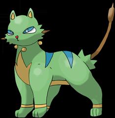 ID: 423 Tigreed - Pokemon - Fakemon - Features Monster MMORPG Online
