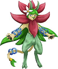 ID: 499 Blossope - Pokemon - Fakemon - Features Monster MMORPG Online