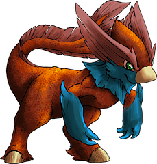 ID: 725 Pyrool - Pokemon - Fakemon - Features Monster MMORPG Online