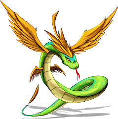 ID: 851 Quetzaya - Pokemon - Fakemon - Features Monster MMORPG Online