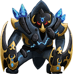 ID: 908 Golemet - Pokemon - Fakemon - Features Monster MMORPG Online