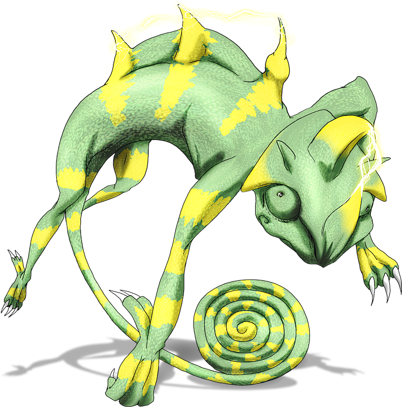 ID: 10011 Monster Giga-Chamelevolt www.monstermmorpg.com Better Than Pokemon