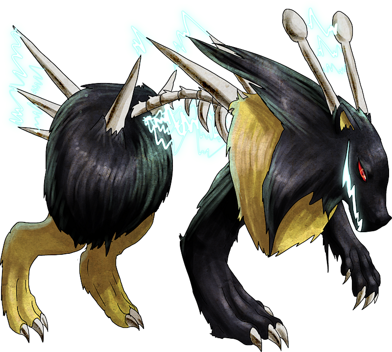 ID: 630 Monster Teslectric www.monstermmorpg.com Better Than Pokemon