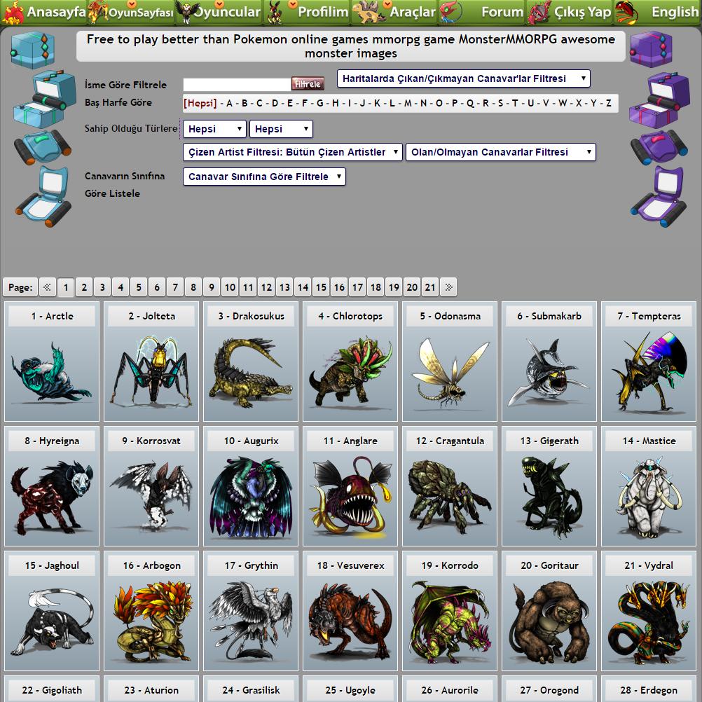[Resim: Monsters-List-All-Monsters-Pokemon-MonsterMMORPG.png]