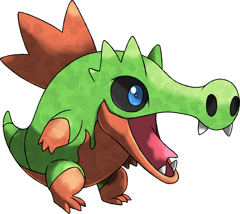 ID: 1906 Monster Pyrodile www.monstermmorpg.com Better Than Pokemon