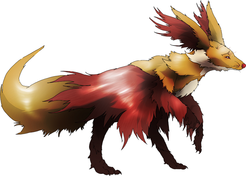 ID: 2307 Monster Foxy www.monstermmorpg.com Better Than Pokemon