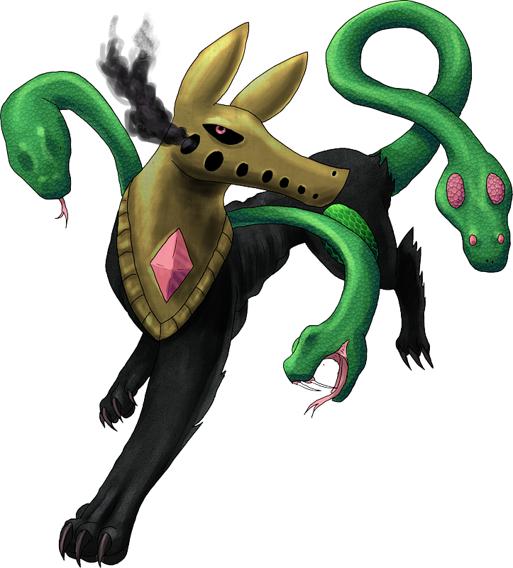 ID: 544 Monster Cursnake www.monstermmorpg.com Better Than Pokemon